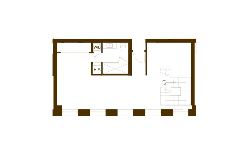 PH 11 2 Bed 2 Bath Floorplan