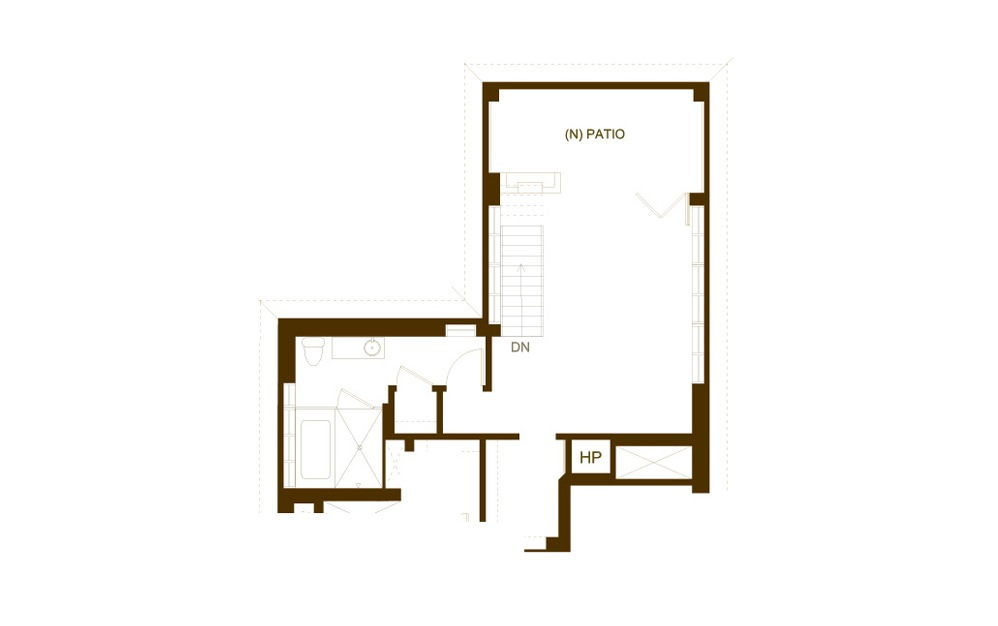PH15 2 Bed 2 Bath Floorplan